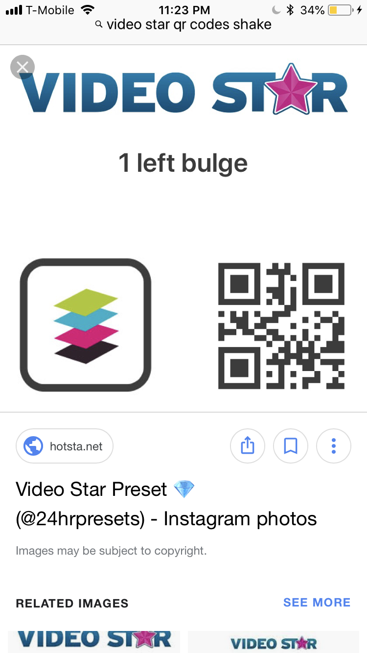 Video Star Qr Codes Bounce 070674