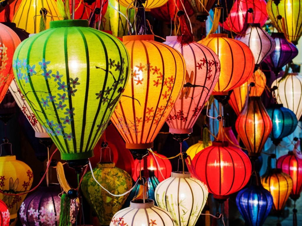 Traditional Lanterns in Vietnam jigsaw puzzle