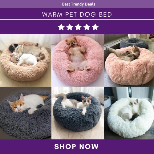 Warm Fleece Dog Bed in 2020 Dog pet beds, Fleece dog bed