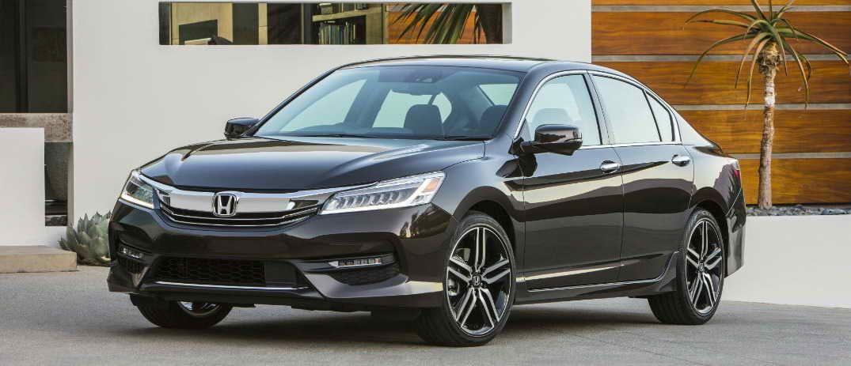 2016 Honda Accord Black