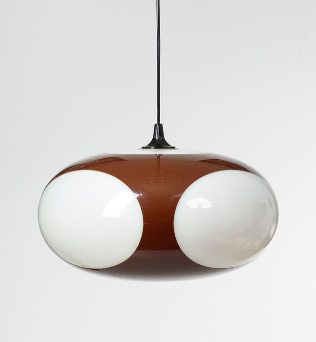 Luigi Colani 'Bug Eye or Flying Insect Eye' Lamp | Lampen