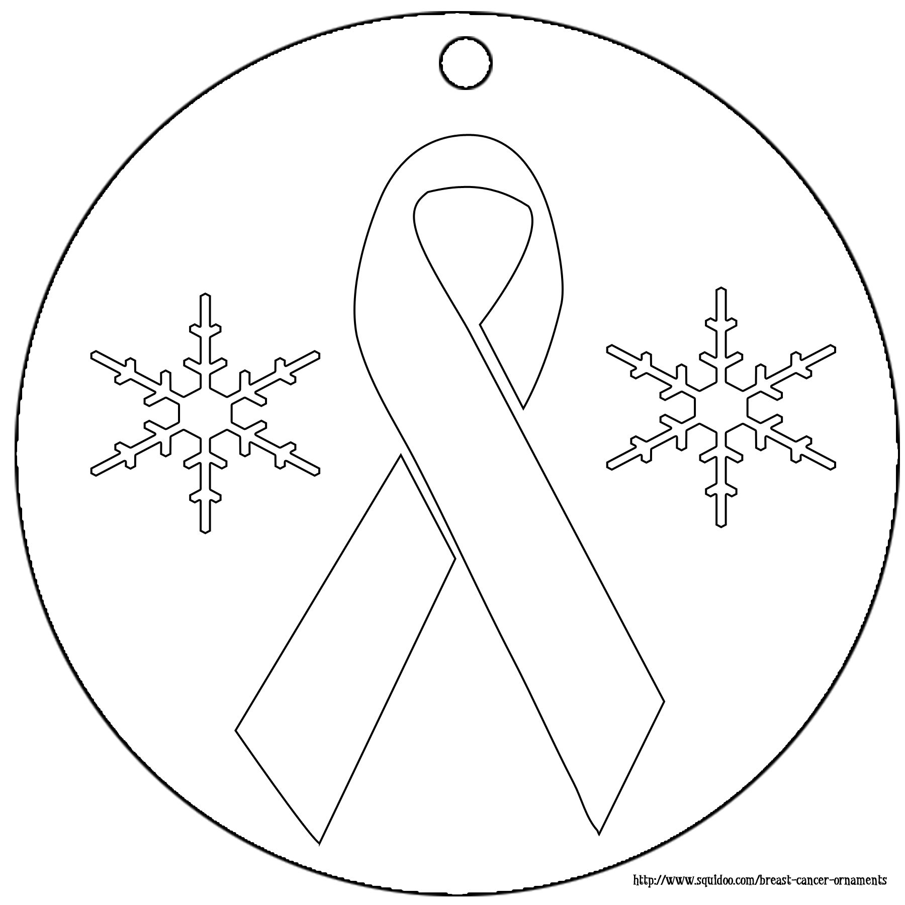 Christmas ornament coloring pages copyright kab on squidoo
