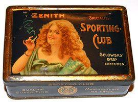 Zenith Sporting Club Cigaretten