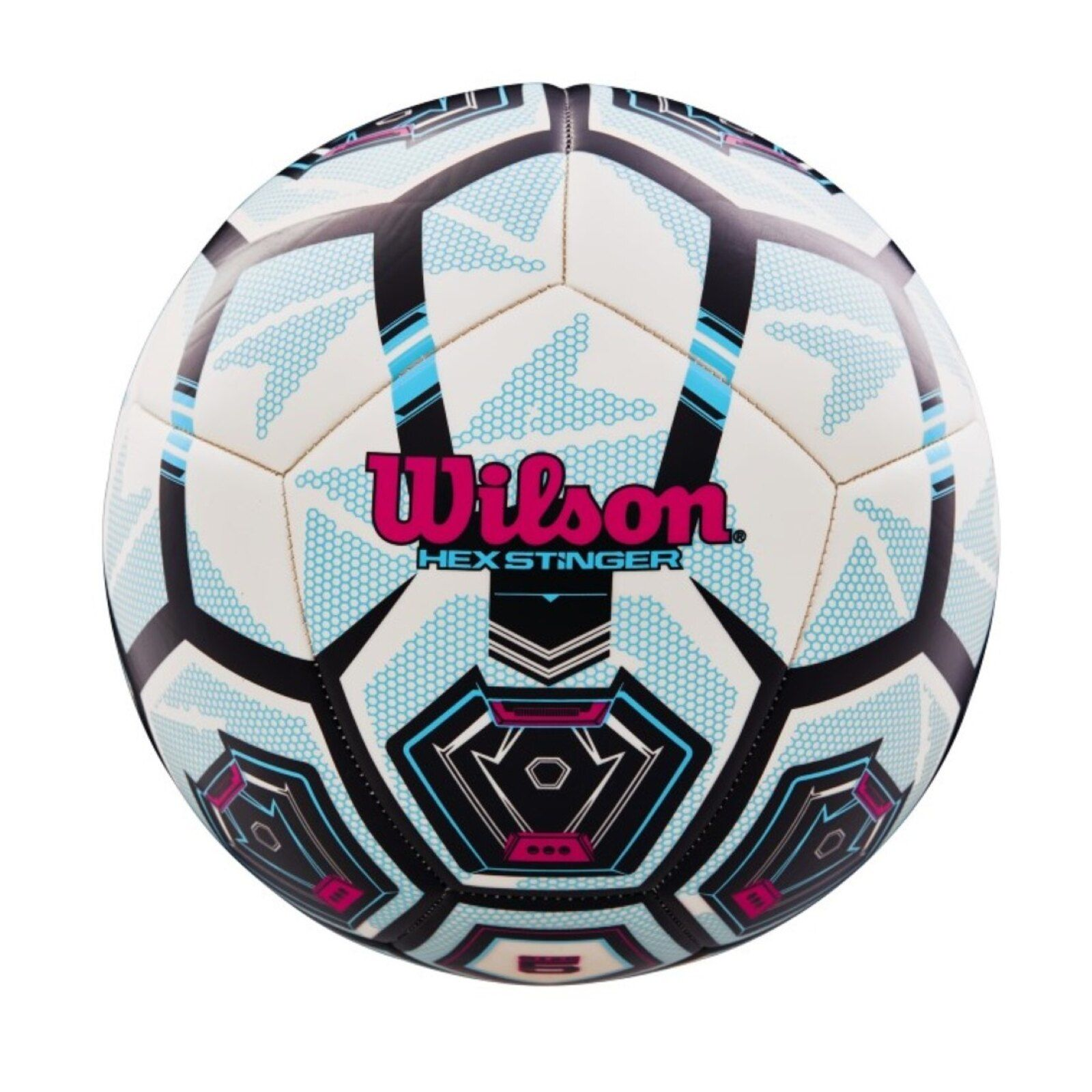 Bola De Futebol Wilson Hex Stringer Branco Em 2020 Futebol E