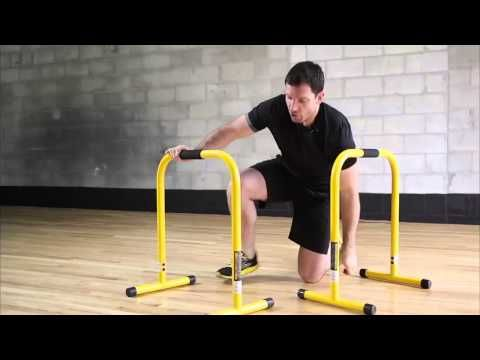 How To Do Ab Exercises Using The Lebert Equalizer With Marc Lebert Youtube Bar Workout Abs Workout Best Cardio Workout