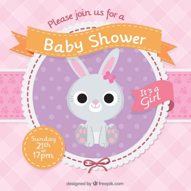 Free Baby Shower Graphics Editable Vector Files Its A Girl Pink