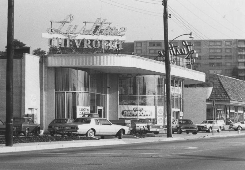 Lustine Chevrolet Dealership, Hyattsville, Maryland