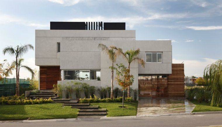 Décoration façade maison  idées modernes et jolies Pinterest House