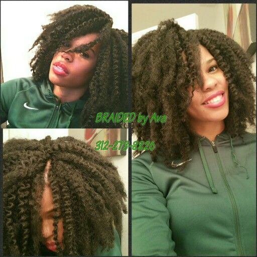 Knotless Crochet Braids by Ava, Chicago, IL 11-11-11 | crochet ...