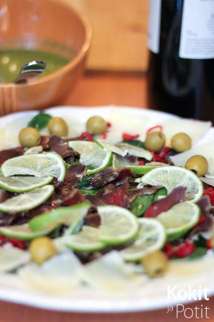 Kokit ja Potit -ruokablogi: T(h)aivaallinen alkupala kuivalihasta