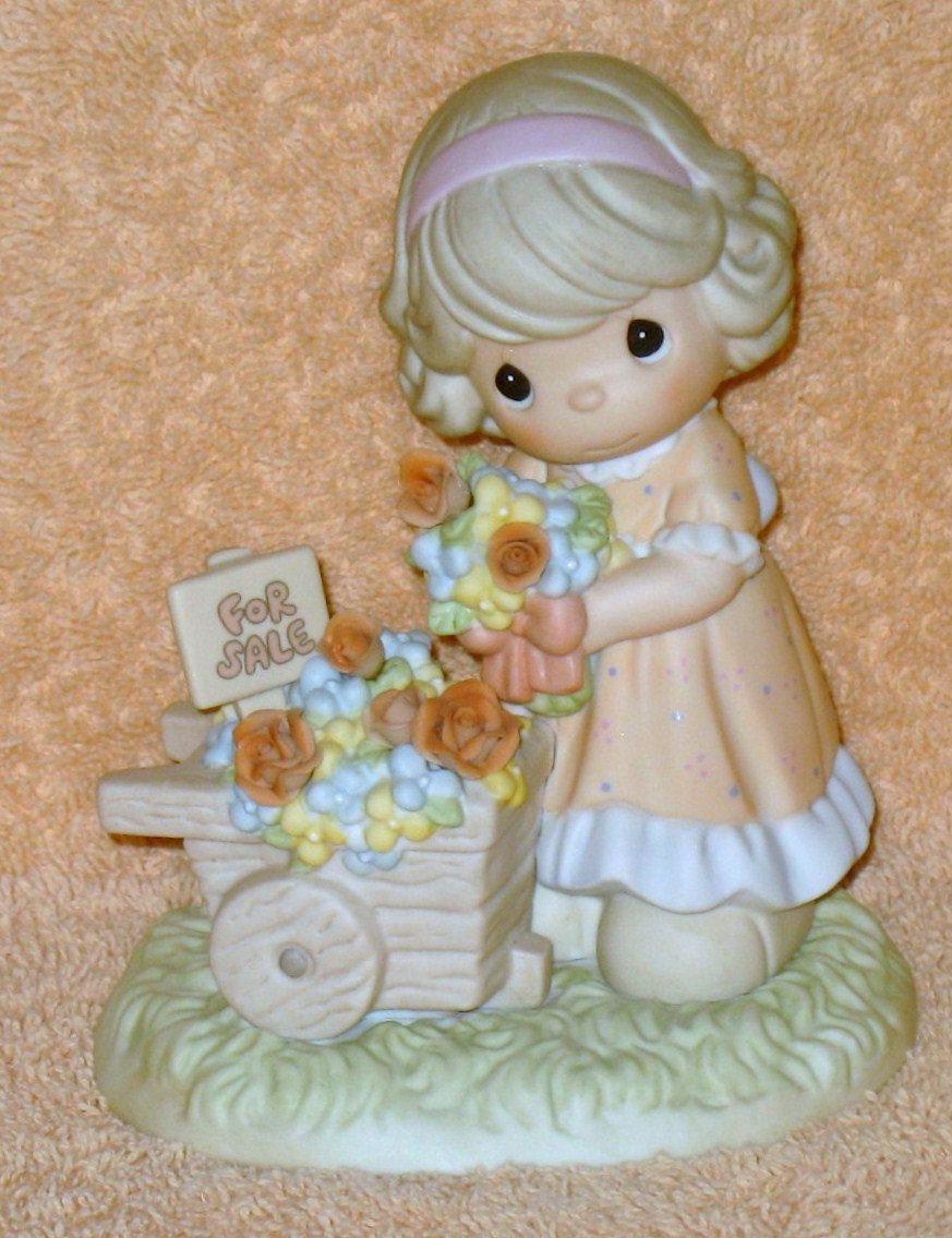 """Precious Moments June """" Rose; beautiful """" by Catloversdream on Etsy"""