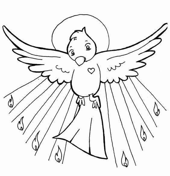 Holy Spirit Coloring Page Elegant Holy Spirit Pentecost