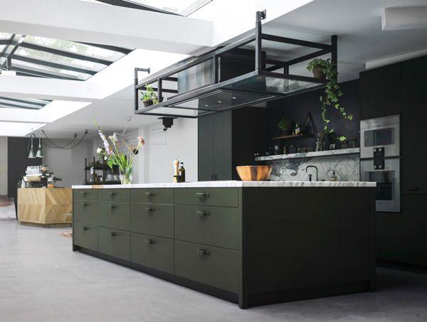 Modern Industrial Kitchens By Eginstill Http Www