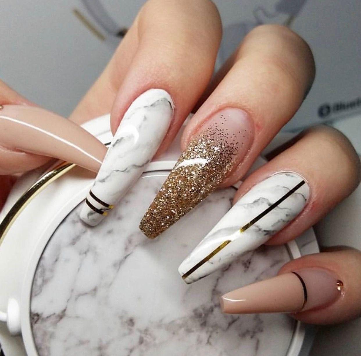 Marble affect   Nails   Pinterest   Nail inspo, Nail nail and Makeup