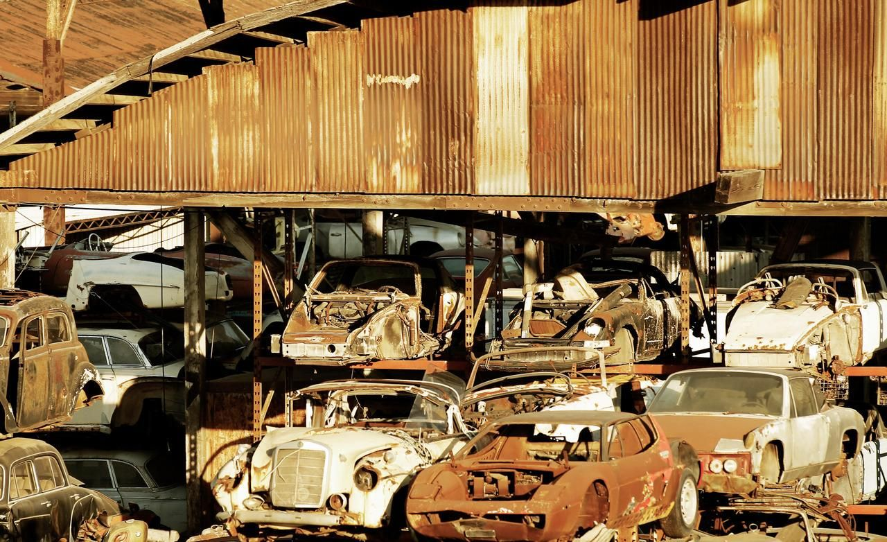 Danny'S Auto Salvage >> Rustic Auto Salvage Yard Picture Junk Cars Abandoned