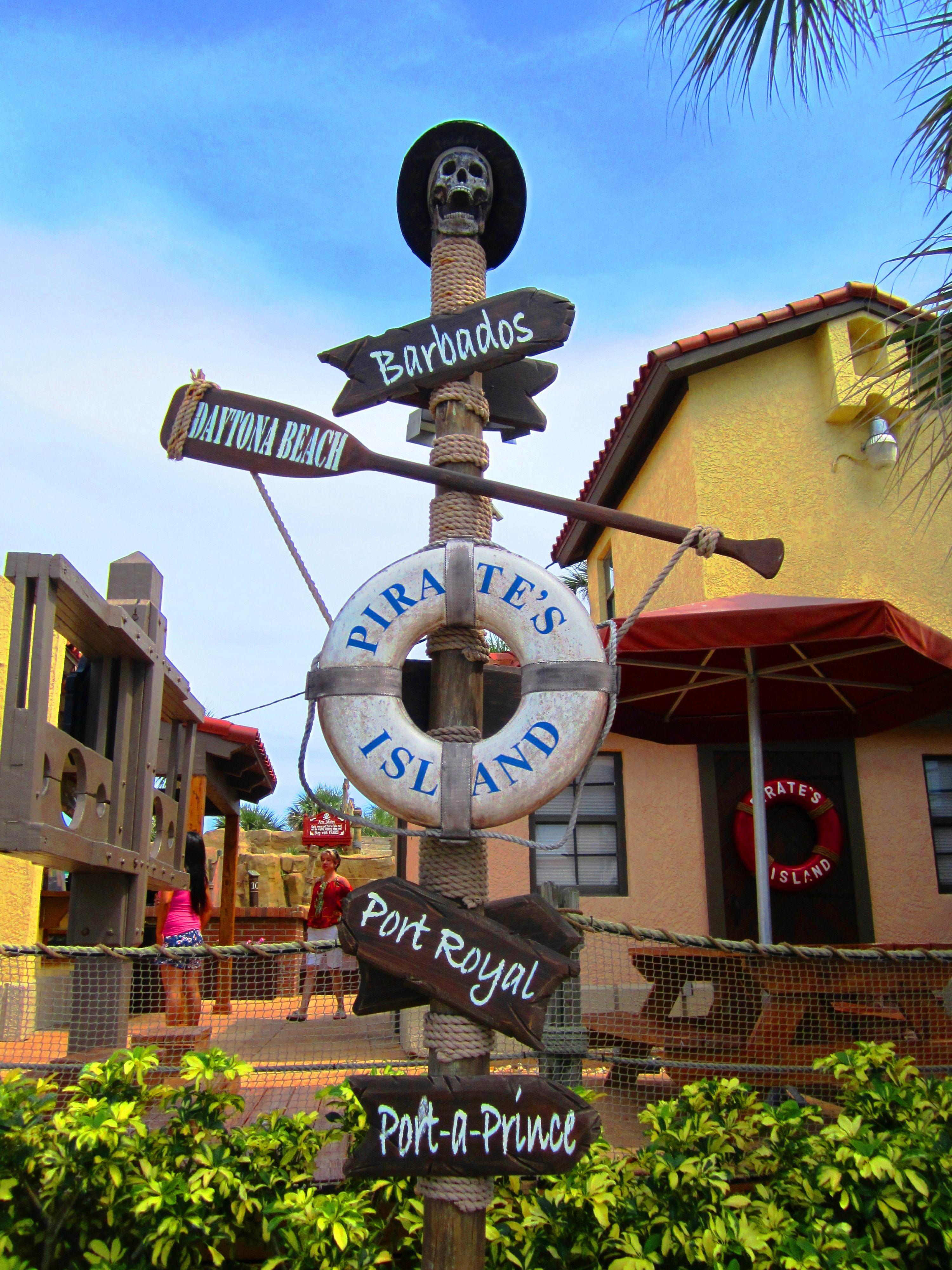 Destination Adventure Golf Daytona Beach Ss Pirate Island Pirates Cove Miniature