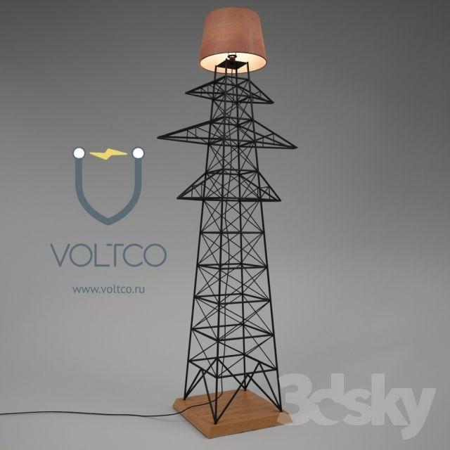 Lamp Quot Electricity Pylon Quot