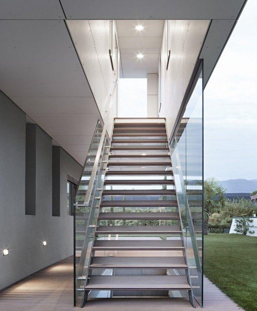 moderne stahltreppen au en eine gute idee architektur hauser pinterest stahltreppen. Black Bedroom Furniture Sets. Home Design Ideas