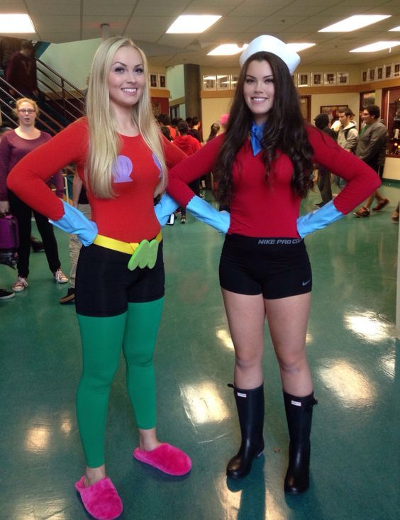 60 Halloween Costumes For Women Which Are Simply Excellent Duo Halloween Costumes Halloween Costume Outfits Spongebob Halloween Costume