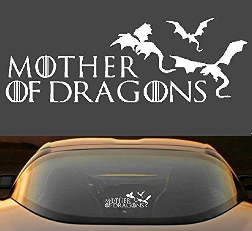 9 game of thrones mother of dragons car window laptop vinyl decal sticker hobbies crafts