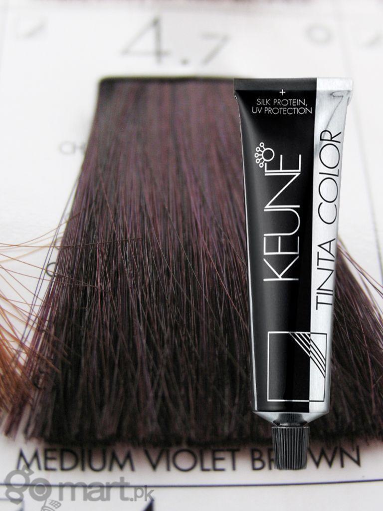 Keune Tinta Color 4 7 Violet Brown Color Hair Color