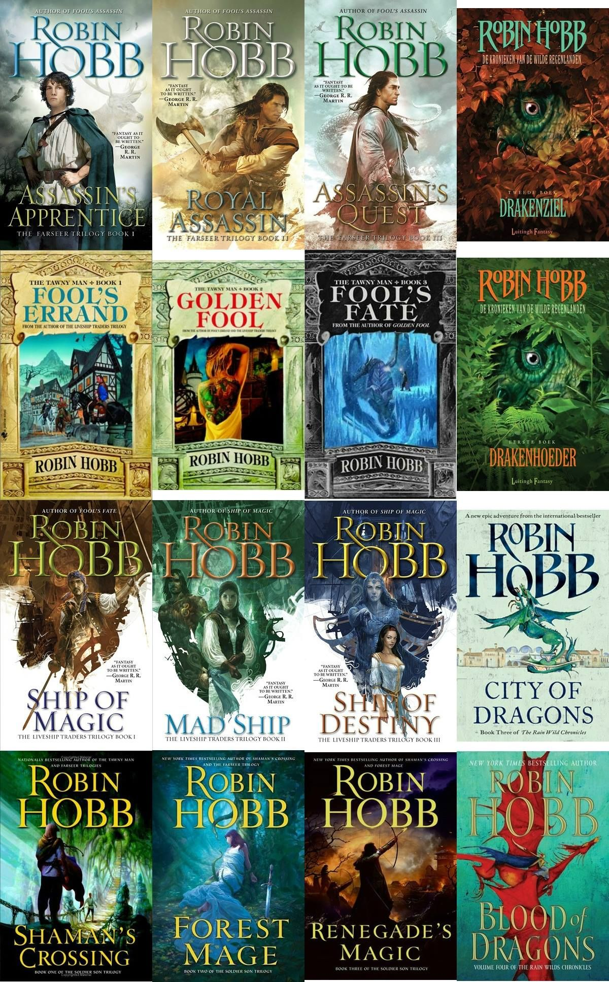 Image result for robin hobb books