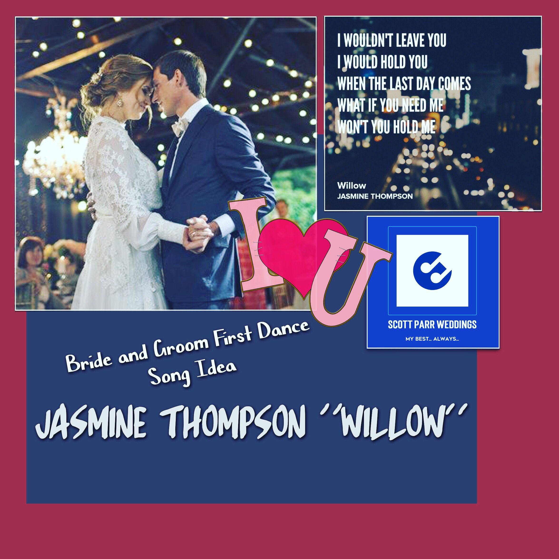 Wedding Song Idea, Bride & Groom's First Dance