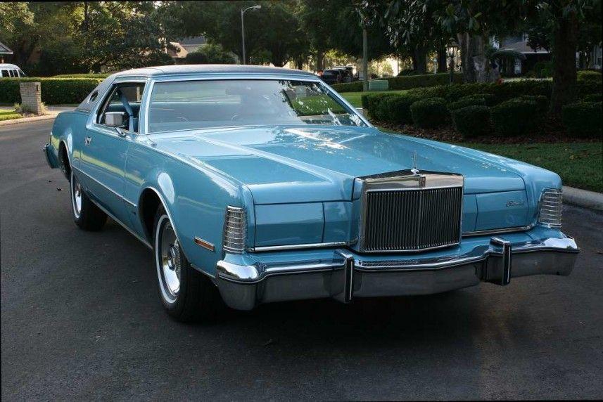 1975 Lincoln Continental Mark IV: Blue Diamond Edition