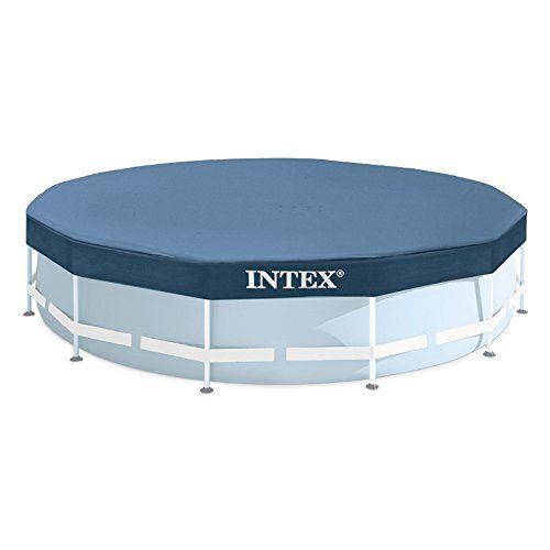 Intex Bche De Protection Pour Tubulaire Ronde Bleu 366 X 366 X 25 Cm 28031 Piscine Tubulaire Piscine Hors Sol Accessoire Piscine Hors Sol
