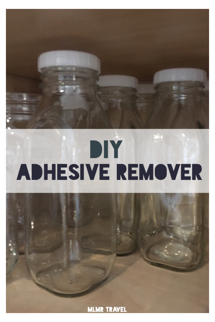 Simple Diy Adhesive Remover Eco Friendly Diy Goo Gone Remove Stickers From Glass Jars Removestick In 2021 How To Remove Adhesive Sticker Removal Cleaning Hacks