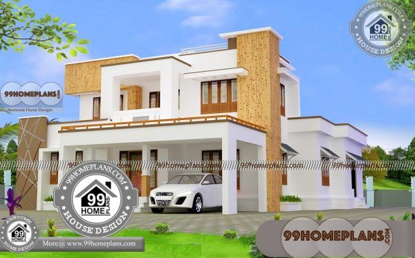 2 Storey Contemporary House Design