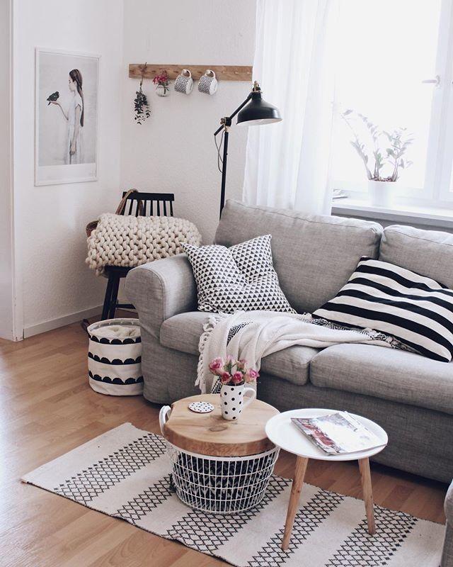 Hier darf die Hakenleiste Apartments and House - wohnzimmer dekorieren schwarz