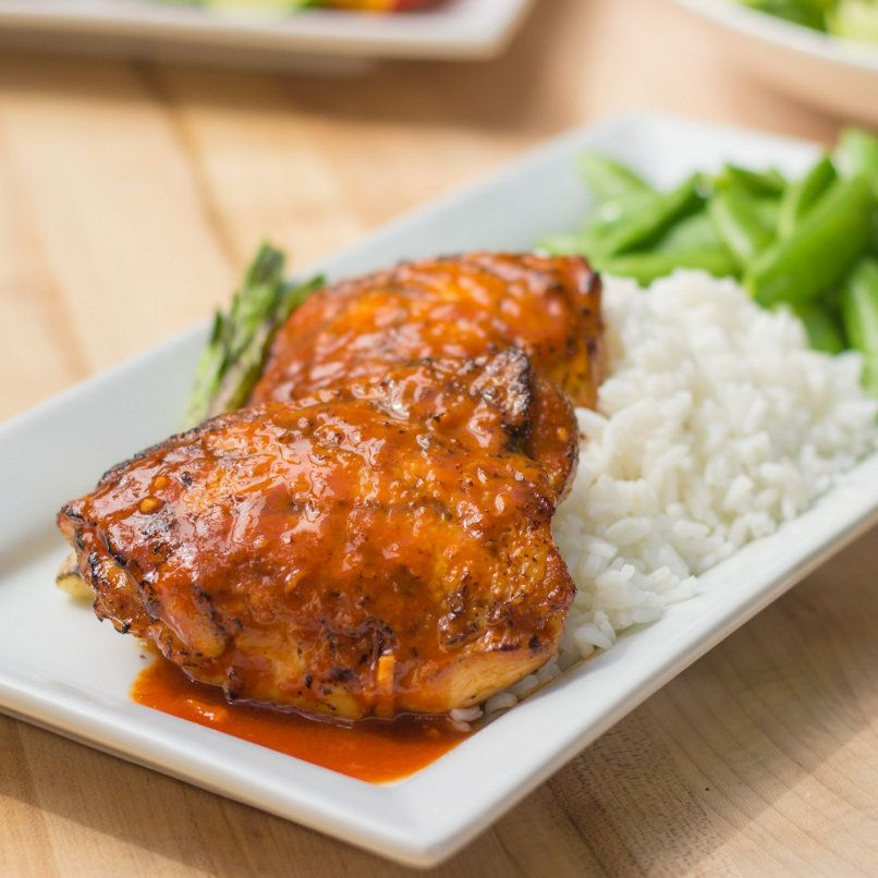 Asian Spiced Chicken Thighs