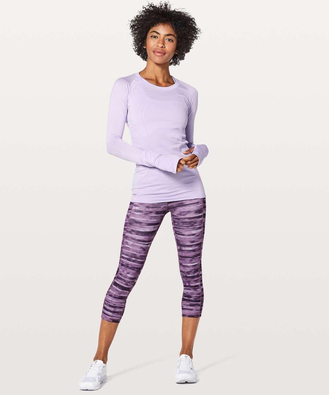 fb3ca1b23 Lululemon Swiftly Tech Long Sleeve Crew - Sheer Violet   Sheer Violet