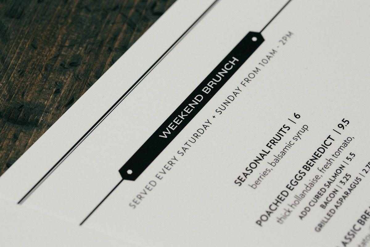 Briggs Kitchen + Bar Branding on Behance