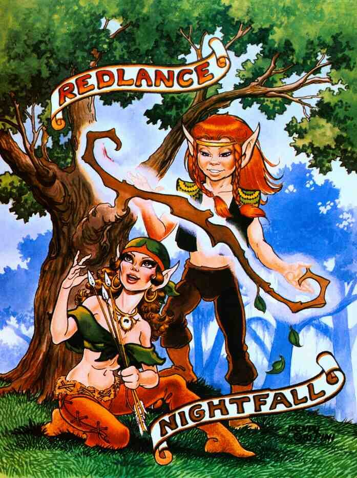 Elfquest Characters | the archer and the treeshaper the old married couple!