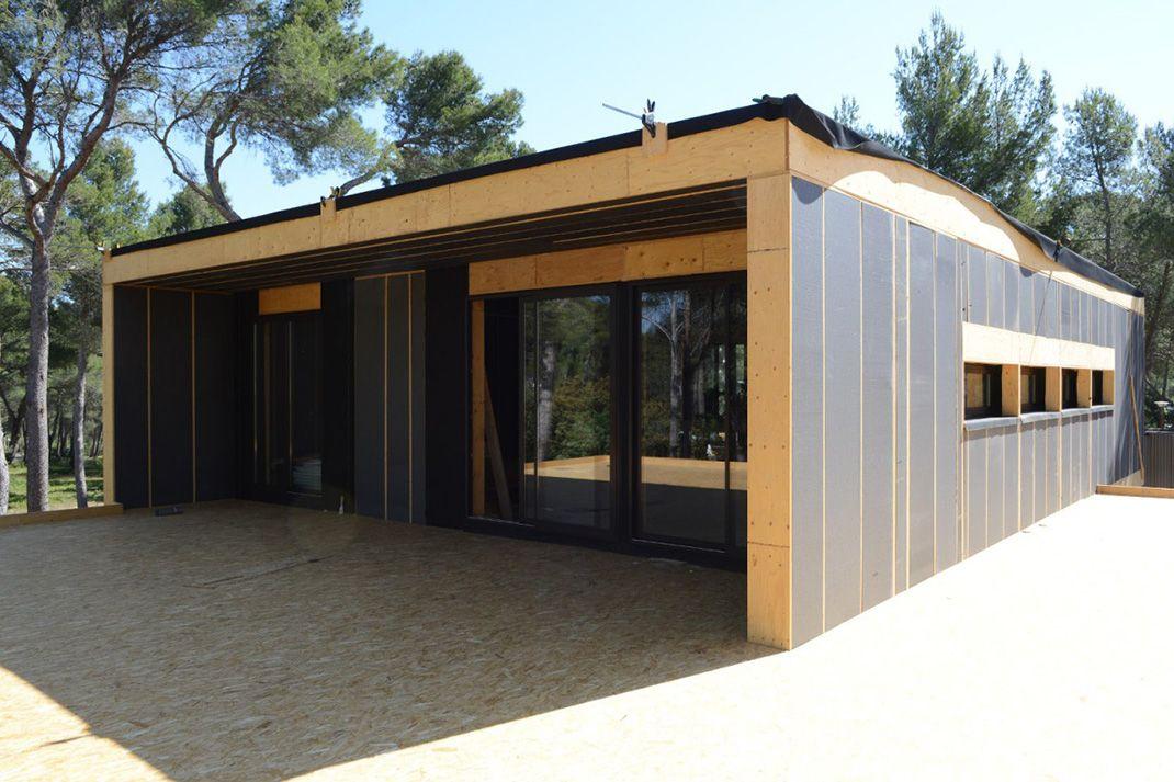 Construisez votre maison écologique en quelques semaines grâce au - prix d une construction de maison