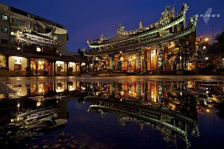 Dalongdong Bao'an Temple, Taipei. #Taiwan  台北 大龍峒 保安宮