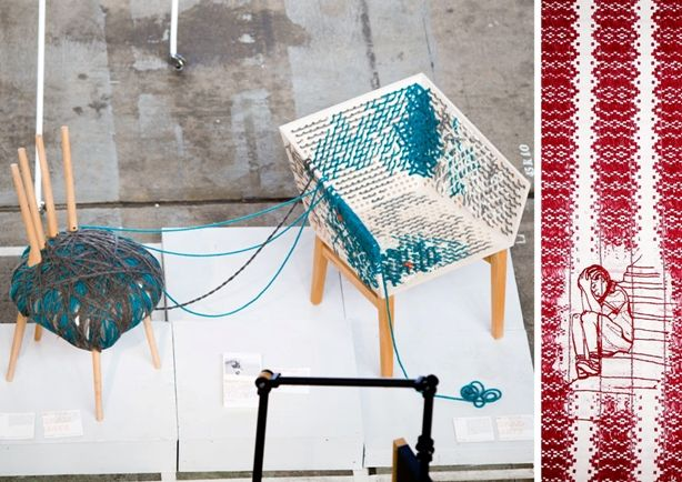 #SpringSummer2013 #SS13 #Repair #Trend #Architecture #Interiors #Furniture #Report by #TheTrendBoutique #MacroTrends Left: Burg Giebichenstein Art School - Photo Credit: Binh Truong Right: Sandberg