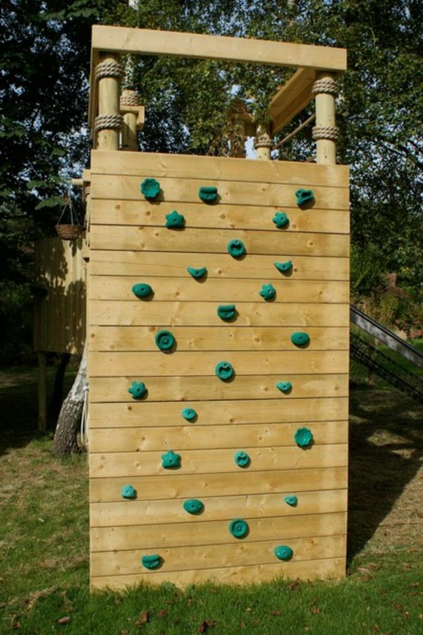 spielger te f r garten rustikale kletterwand summerfly. Black Bedroom Furniture Sets. Home Design Ideas