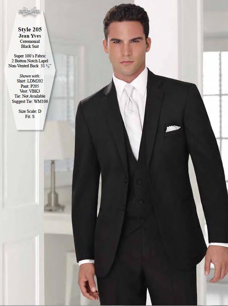 Black Ceremonial Suit> Jean Yves > Groomsmen> 2014 Wedding ...