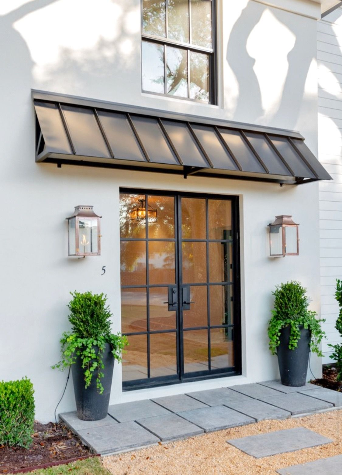 Air 5 Double Flat In 2020 House Exterior French Doors Patio Steel Doors