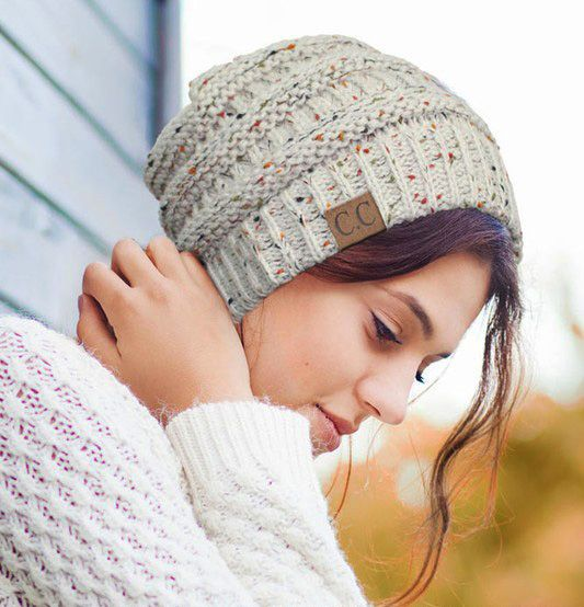 2830f5c83019c Confetti Knit CC Beanie Hat inset 3