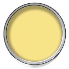 Wilko Colour Matt Emulsion Paint Lemon Sorbet At