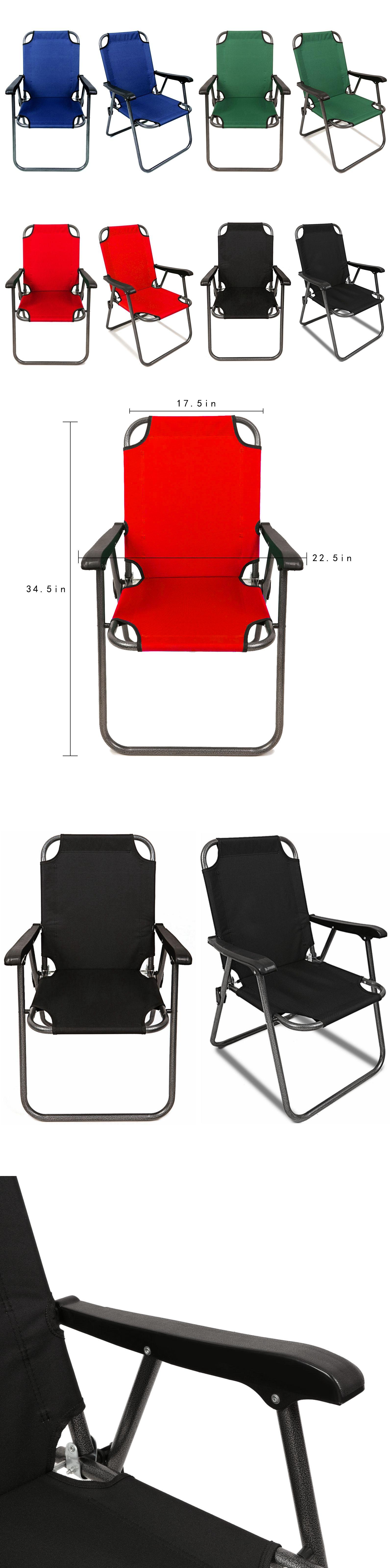 Camping Furniture 16038: 2 Portable Folding Chair Beach Chair Lightweight  Travel Patio Outdoor Sport Yard