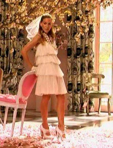 Carrie Bradshaw Vouge Shoot In Lanvin Mod Weddingwedding Rehearsalwedding Vowswedding