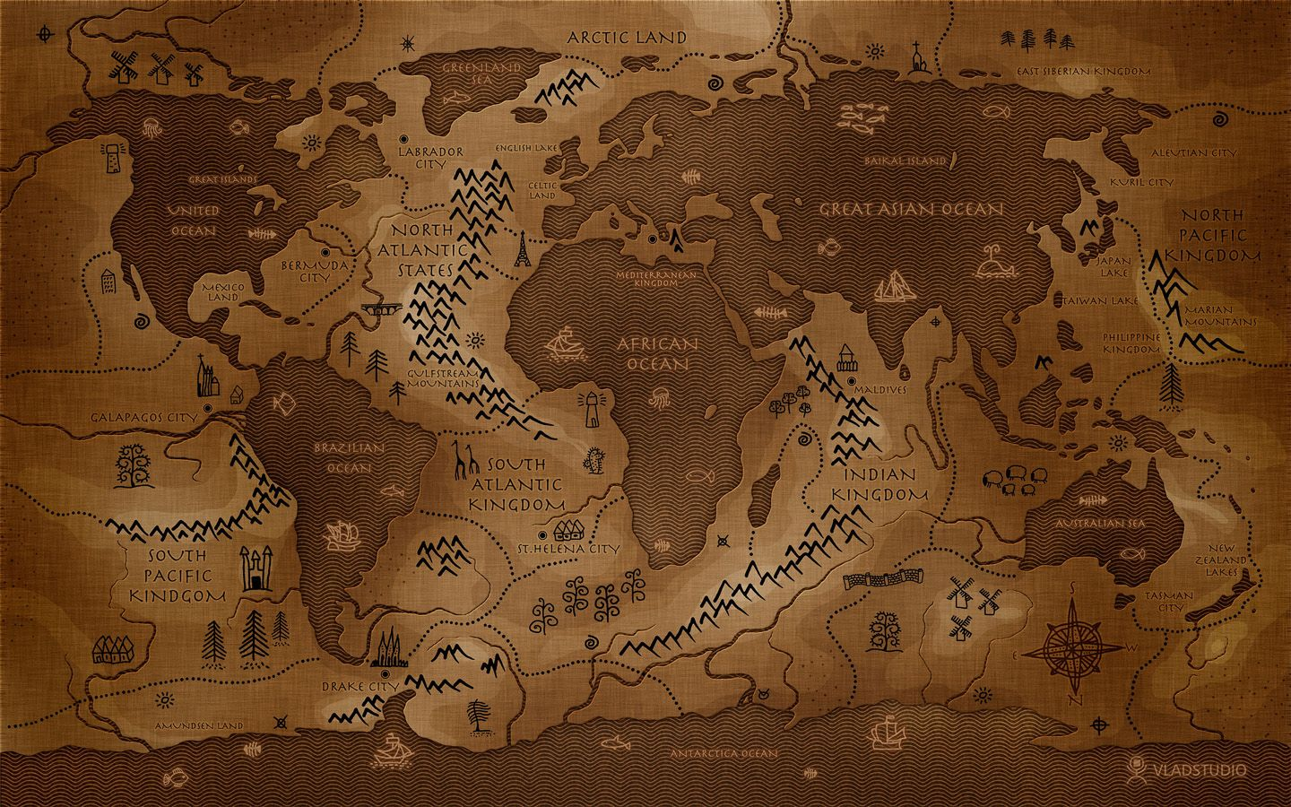 Map of the world if the continents were oceans sweeeet logans map of the world if the continents were oceans sweeeet gumiabroncs Image collections