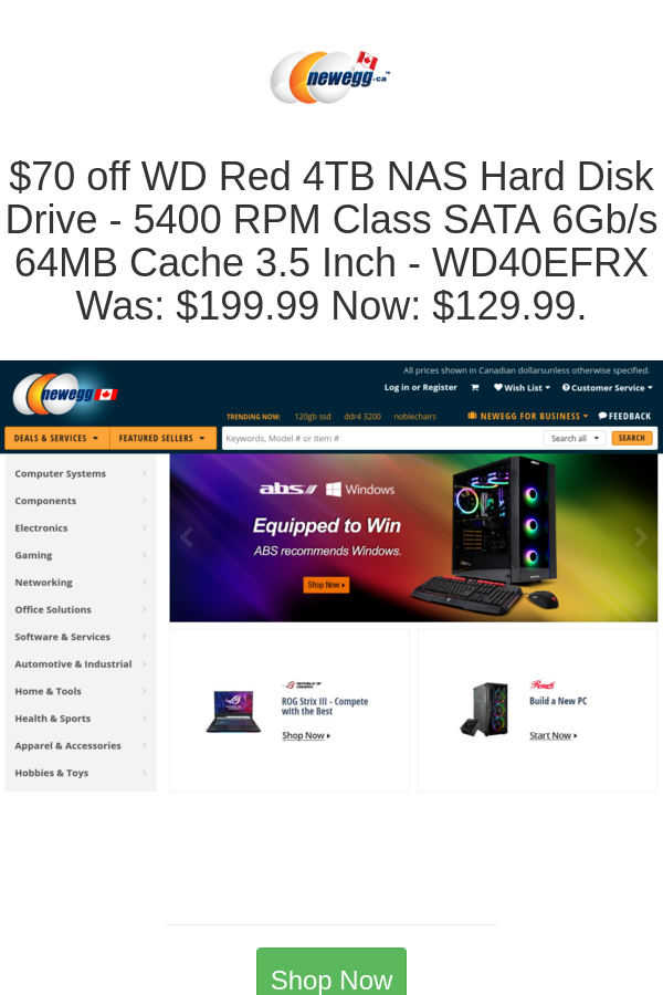 Best deals and coupons for Newegg Canada in 2020 Coupons