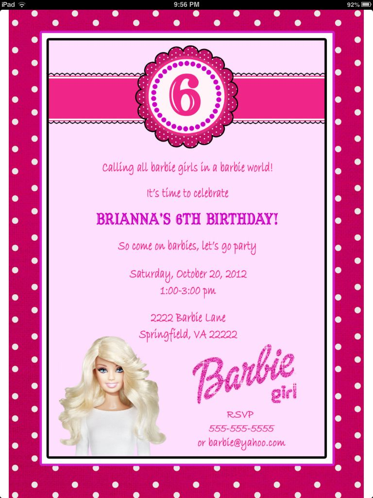 Barbie party | Birthdays | Pinterest | Barbie party, Birthdays and ...