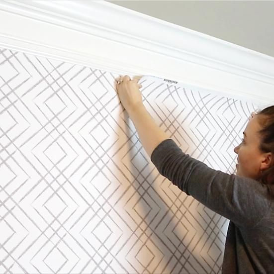 How To Install Peel And Stick Wallpaper Peal And Stick Wallpaper How To Install Wallpaper Wallpaper Furniture